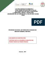 Programa del PNFA MGI 1er periodo Leo