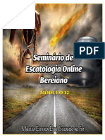 12 Apostila+Seminário+de+Escatologia+Online+Bereiano+Módulo+12