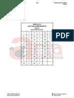 COMPRENSIVA - T6 - Desenlace de texto - Claves