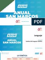 Anual San Marcos - Lenguaje Semana 09