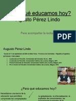 Agusto Pérez Lindo Power