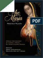 Palazon - Ave Maria - Partitura y partes