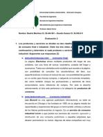 9. Mercadotecnia para Ingenieros Industriales - Evaluacion #2