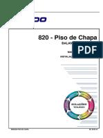 820 - Piso de Chapa