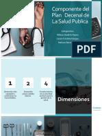 Componente del Plan Decenal de Salud Publica