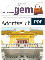 Suplemento Viagem - Jornal O Estado de S. Paulo - Adorável clichê - Espanha  - 20110315