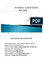 export and trading house