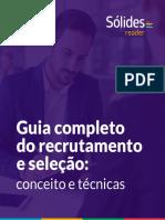 Guia Completo Do Recrutamento e Seleção Conceito e Técnicas