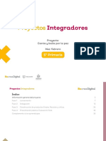 Ficha didctica - Proyecto Integrador - Quinto grado, febrero