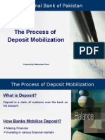 Process of Deposit Mobilization
