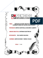 Especificaciones Técnicas de Interruptores de Control Electronico (2)