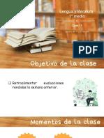 Clase 11 Lengua y literatura 1ro medio