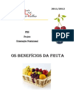 OS BENEFÍCIOS DA FRUTA
