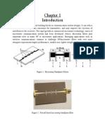 3. Bandpass Microstrip  Filters
