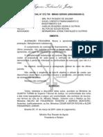 04.1 RECURSO ESPECIAL N° 272.739 - MINAS GERAIS (20000082405-4)  Rel Min Ruy Rosado Aguiar