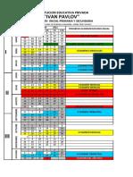Programación 2021 Primero de Secundaria Fisica