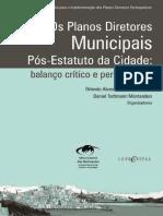 Os Planos Diretores Municipais Pós EC Balanço Crítico e Perspectivas