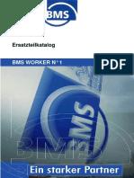 BMS Ersatzteilkatalog Worker Nr 1 Basic