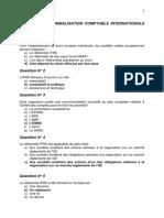 Corrigé QCM bilan normalisation comptable