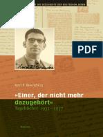 Kurt Rosenberg Tagebuecher