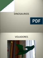 DINOSAURIOS Y LOS VIAJEROS DEL TIEMPO