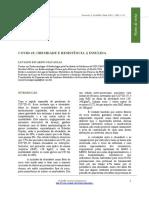 COVID-19 OBESIDADE E RESISTENCIA A INSULINA
