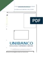 Cartão de Crédito UNIBANCO Unicard MegaBônus