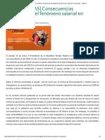 [ENTRELUCHAS] Consecuencias psicológicas del fenómeno salarial en Venezuela - TatuyTV