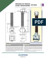 Arteche UTF-245 230kV Voltage Transformer