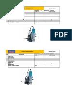 4.- Check List Máquina de Taladro Magnetico