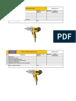 4.- Check List Máquina de Taladro Percutor