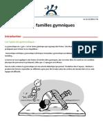 Les familles gymniques fes