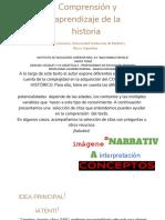 Comprensión y aprendizaje de la historia