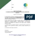 CARTA DE ACEPTACIÓNCONGRESO DOKUMA