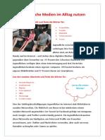 Wie Jugendliche Medien Im Alltag Nutzen Leseverstandnis Schreiben Und Kreatives Schreiben 78363