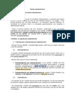 Direito Administrativo - Administração indireta