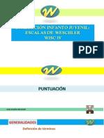 WISC 4 - Clase 2 - Puntuacion