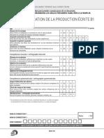 Evaluation Production Ecrit