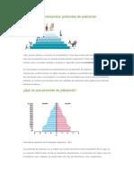 Cómo hacer e interpretar pirámides de población