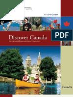 Discover Canada Guide - Citizenship Guide