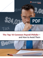 Top-10 Payroll Pitfalls-How to Avoid Them