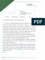 resp. da CMO a pedido de cópia do Proc. Real Marina