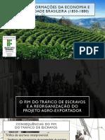 Transformações economicas e sociais no Brasil Império