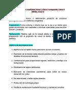 Preparaciones de cavidades clase I, clase I compuesta, clase II (MOD), clase V