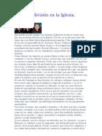 La division en la Iglesia - Julian Moreno _ 03