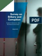 KPMG Bribery Survey Report