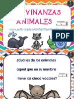 Adivinanzas de Animales 1 5