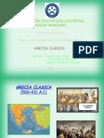 DIAPOSITIVA  DE GRECIA CLASICA GRUPAL 7D