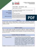 Plano de Curso 2021_Língua Portuguesa_2 ano_Profa. Meirylane