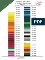 Ral Color Trim